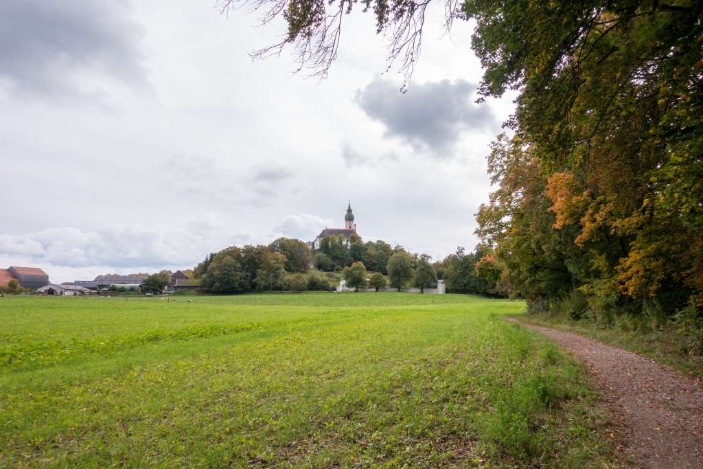 Kloster Andechs im Herbst