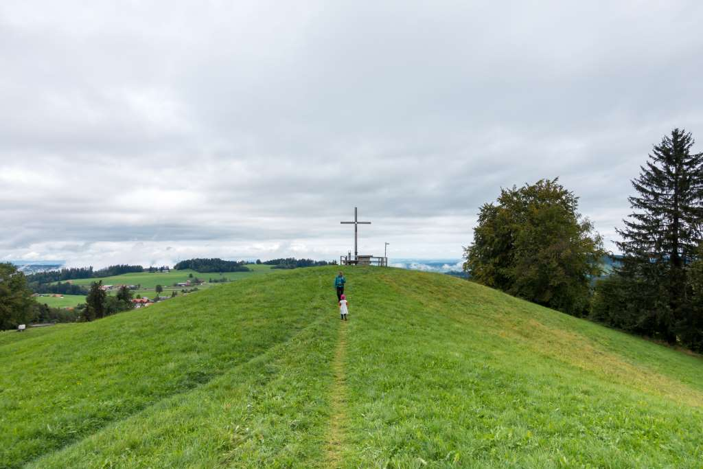Wandern Martinshöhe Oberreute