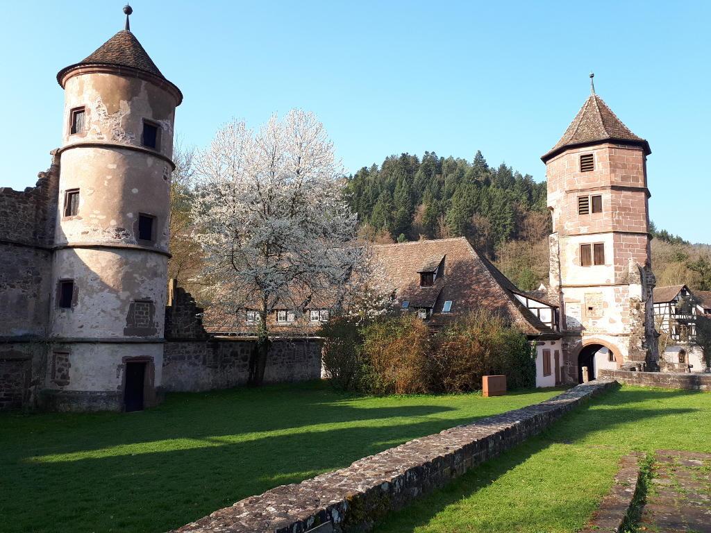 Wandern Nordschwarzwald Kloster-Hirsau