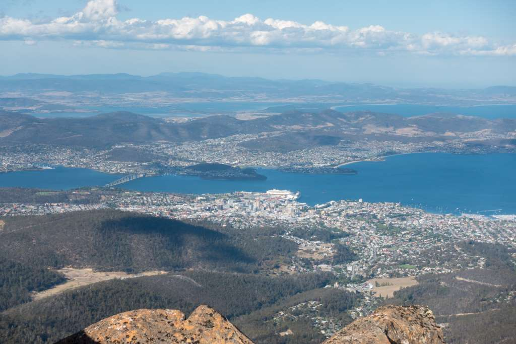 Aussicht Mount Wellington