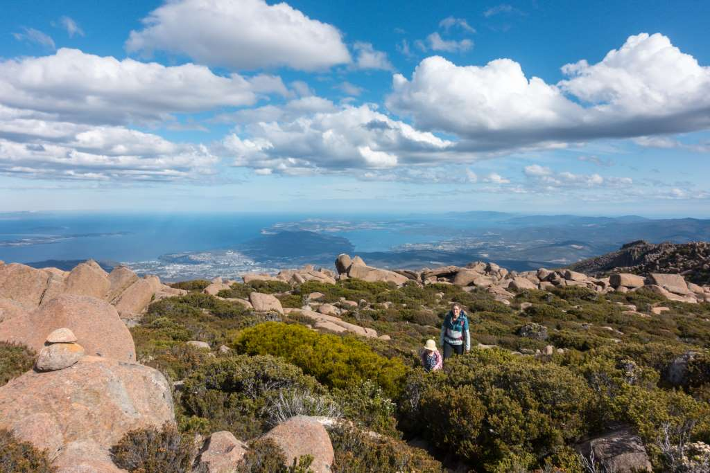 Highlight Tasmanien Mount Wellington