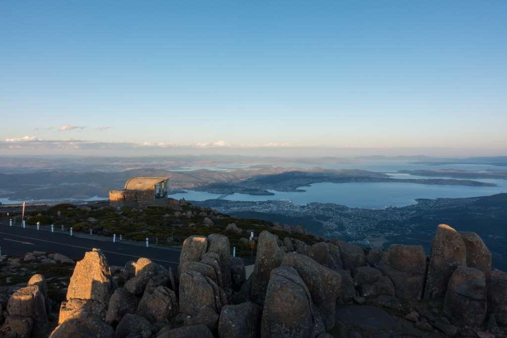 Sonnenuntergang Tasmanien