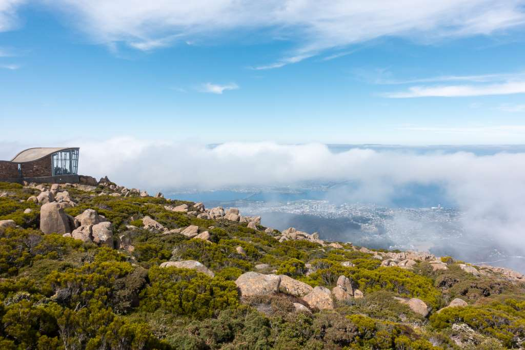 Tasmanien Reise Highlight Mount Wellington