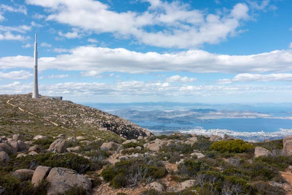 Wanderung Mt. Wellington Tasmanien