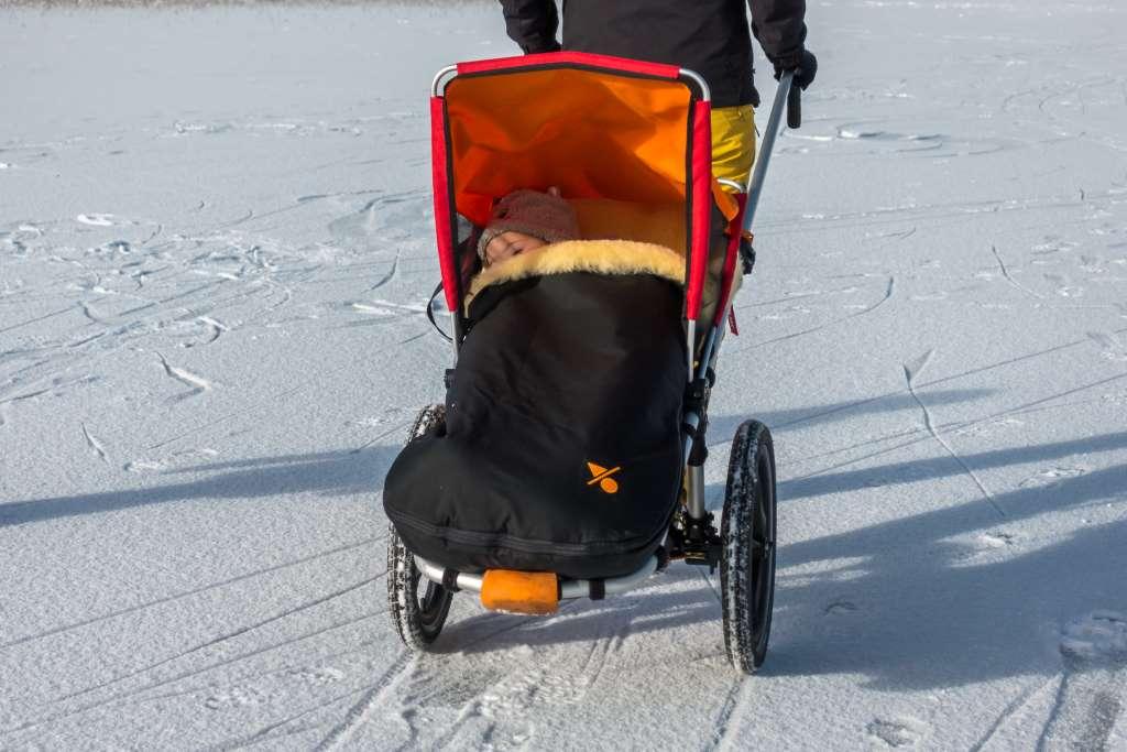 Hike Kid Offroadkinderwagen im Winter