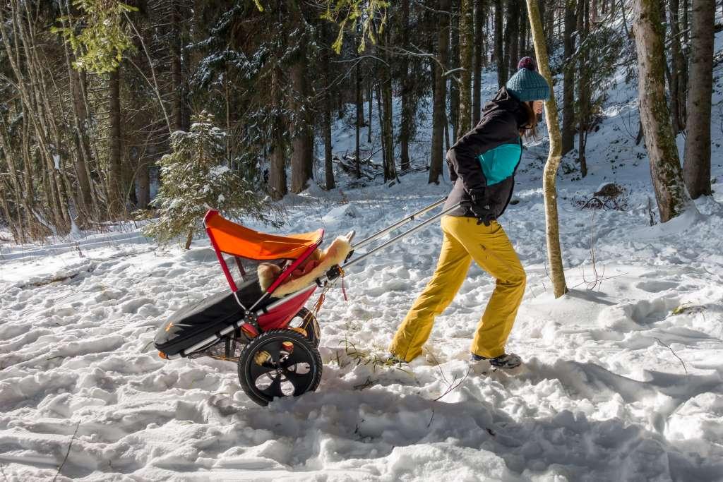 Outdoor Kinderwagen Wandern Winter