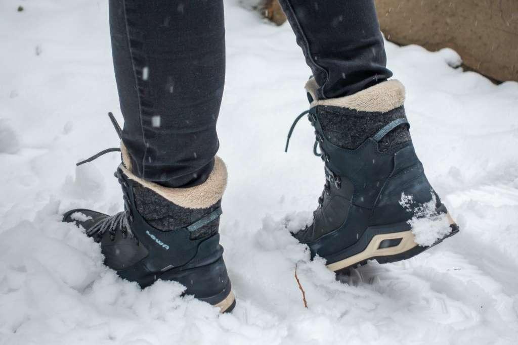 Schuhe Winterwandern Frauen LOWA Renegade Evo Ice