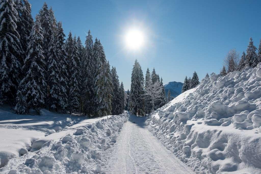 Wandern im Winter mit Kind