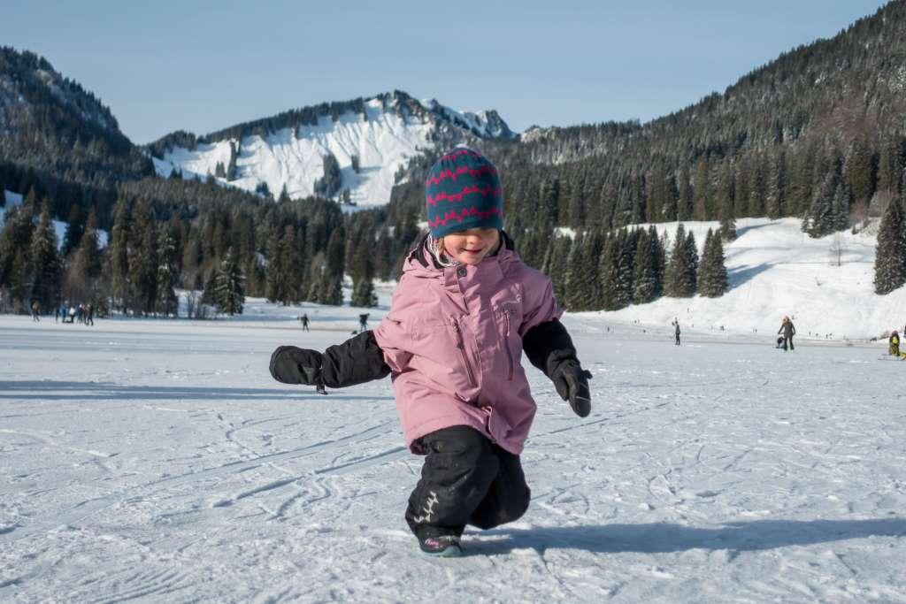 Wandern im Winter mit Kindern