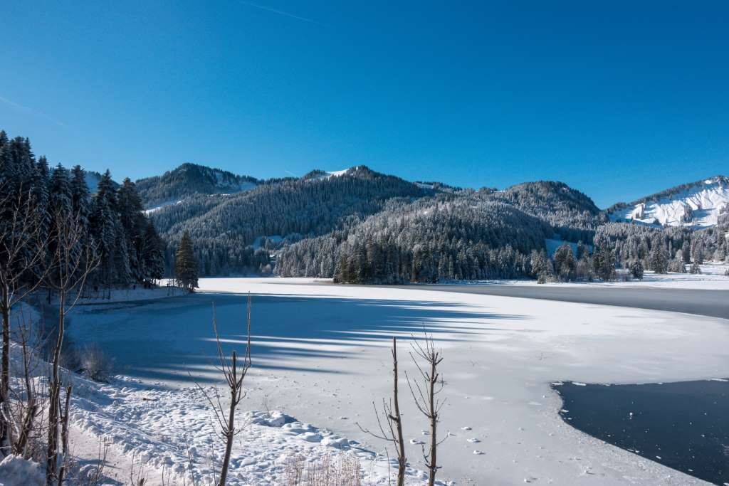 Winterwandern mit Kindern Kälte