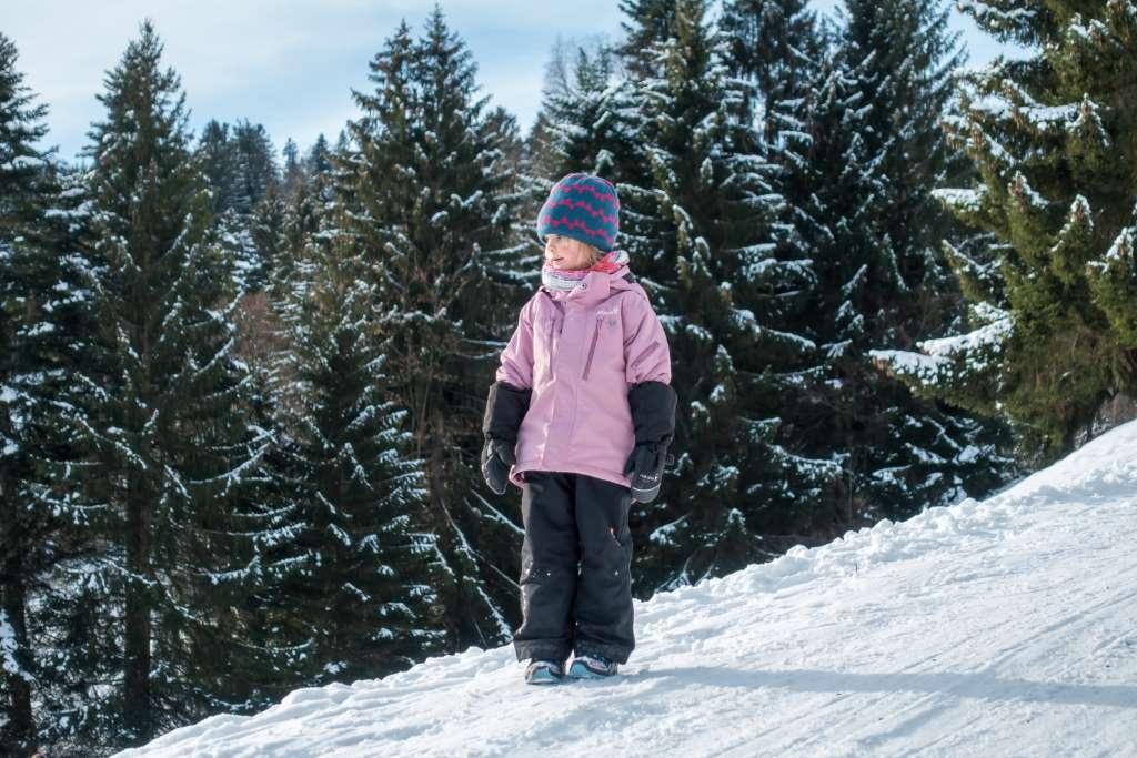 Winterwanderung Kinder Ausrüstung