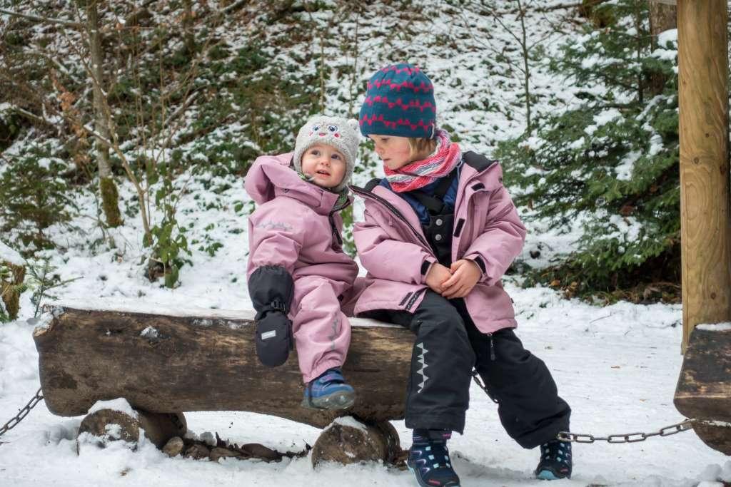 Zwiebeltaktik beim Wandern im Winter