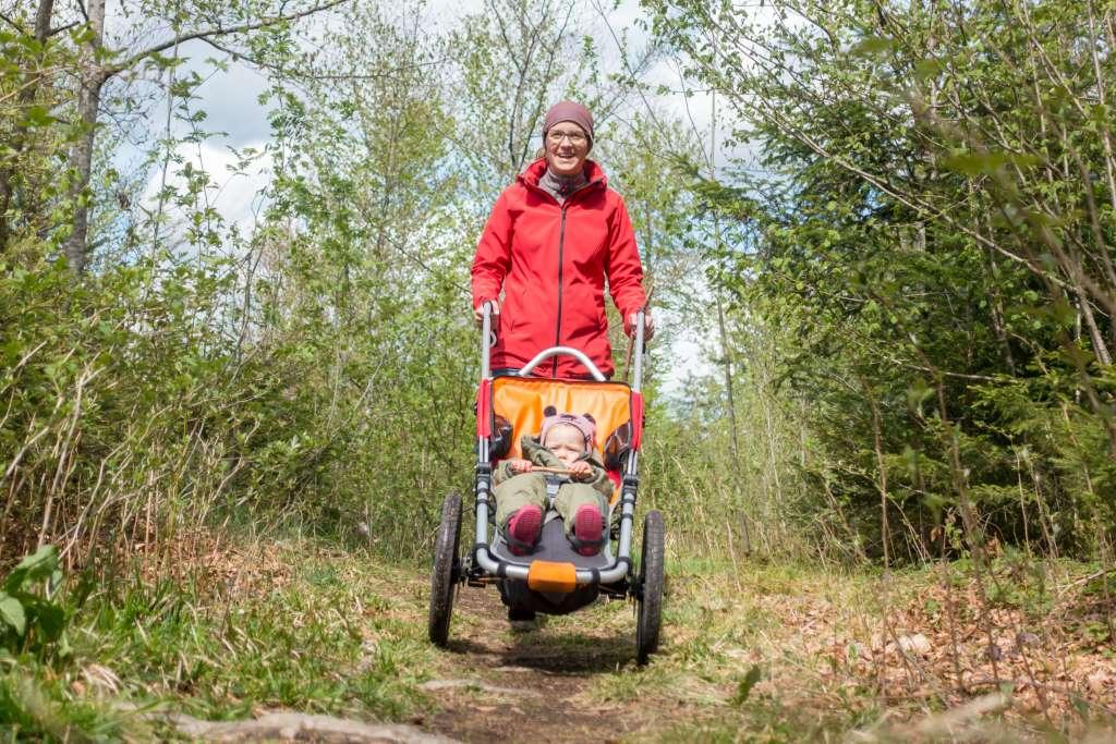 Tourenplanung mit Outdoor Kinderwagen