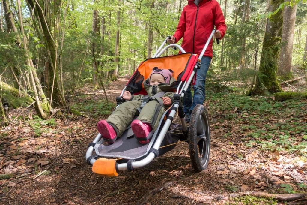 Wandern mit Outdoor Kinderwagen Fragen