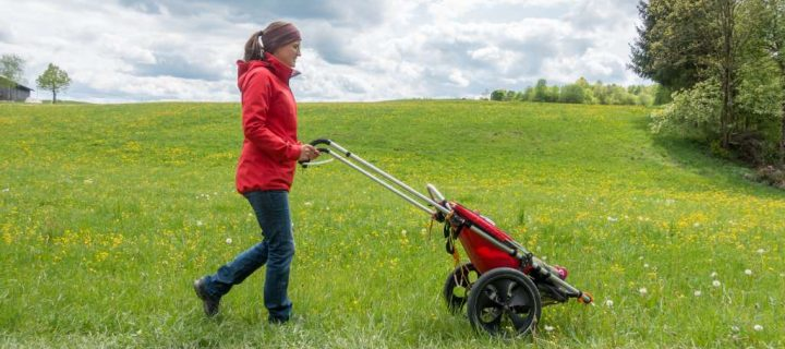 Outdoor Kinderwagen: Der bergtaugliche Outdoor Kinderwagen Hike Kid im Test