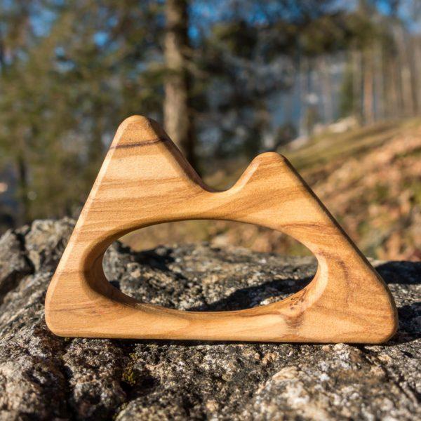 Greifling Berge Babys Holzspielzeug