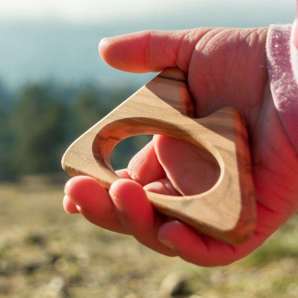 Spielzeug Baby Berge Beißring Holz