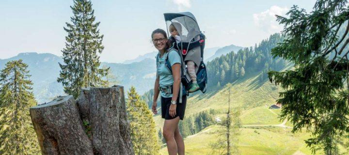 Wandern mit Kraxe München: Buchtipp und Tourenempfehlungen
