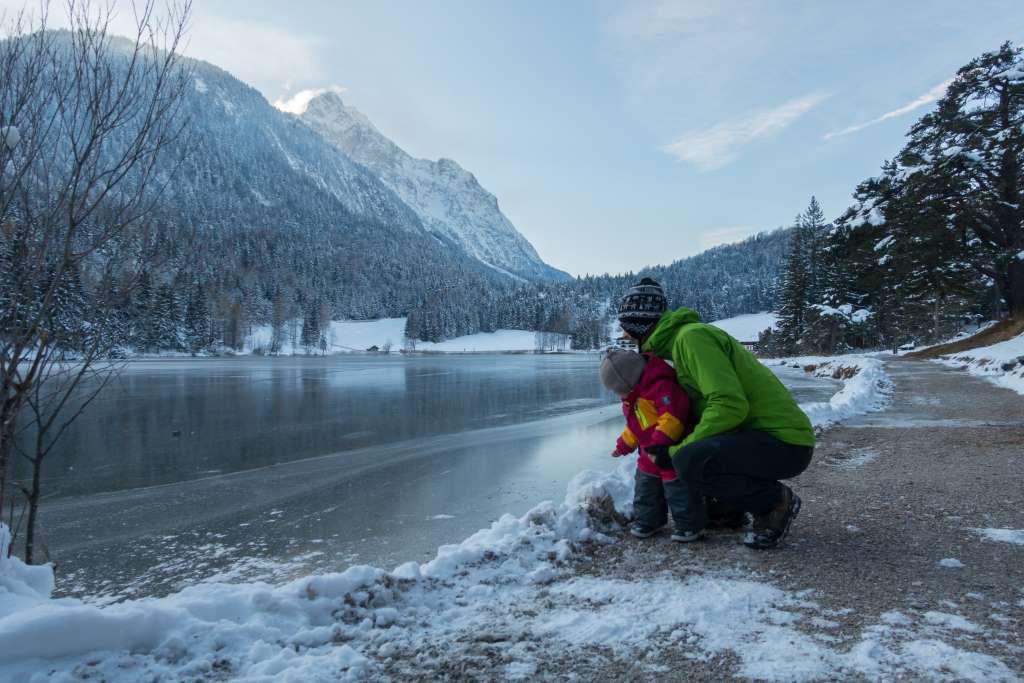Winterwandern Kinder Mittenwald
