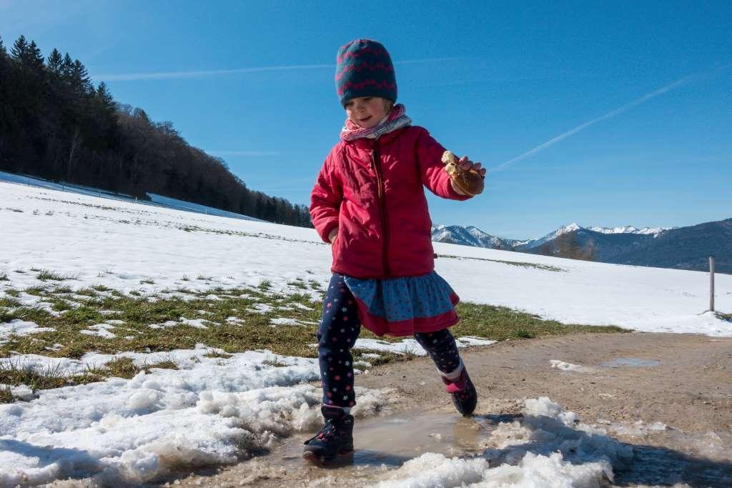 Allein Wandern mit Kind Orientierung