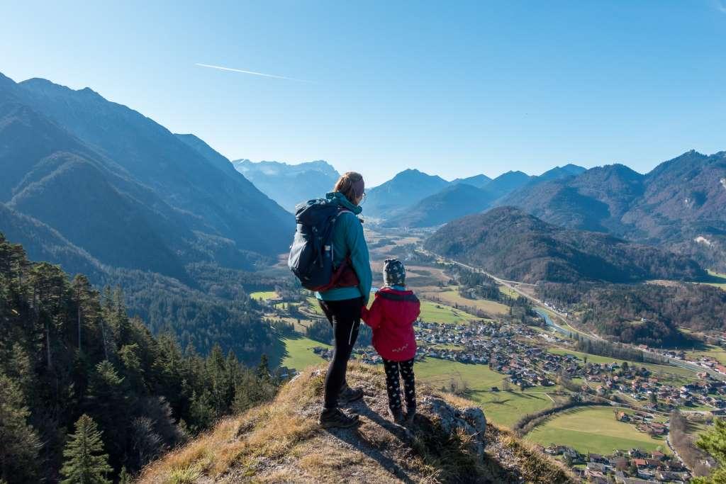 Wanderung Heldenkreuz mit Kindern