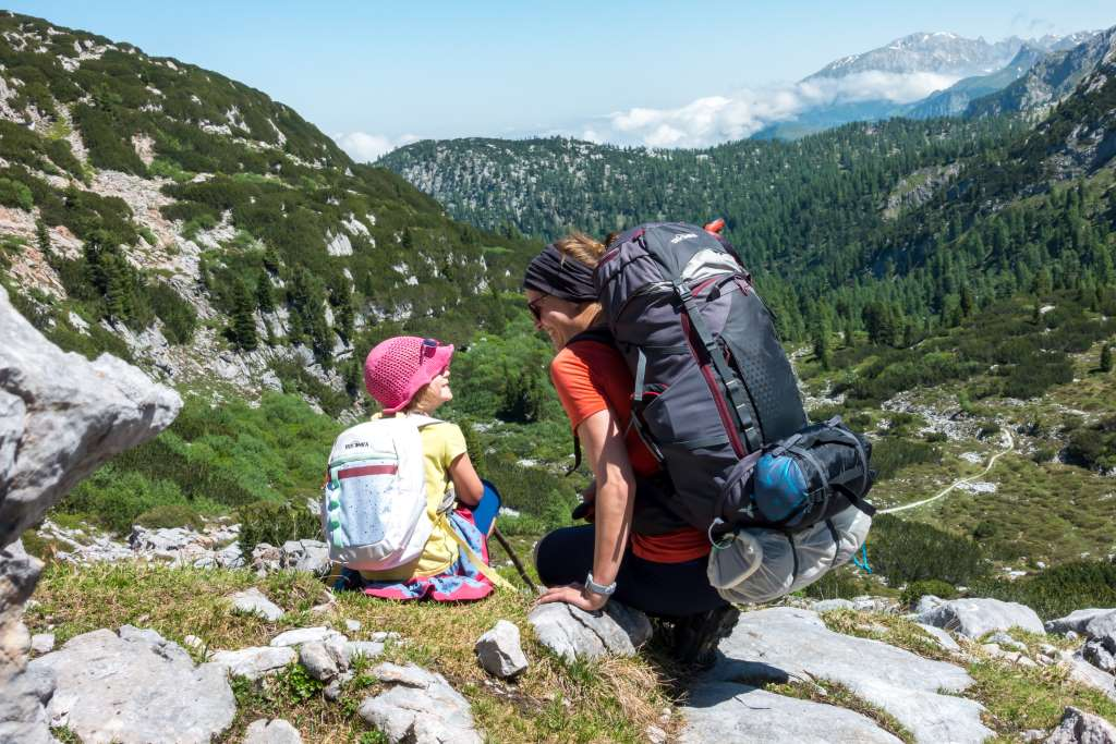 Hüttentour mit Kindern Steinernes Meer wandern