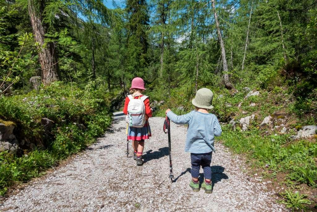 Hüttentour mit kleinen Kindern