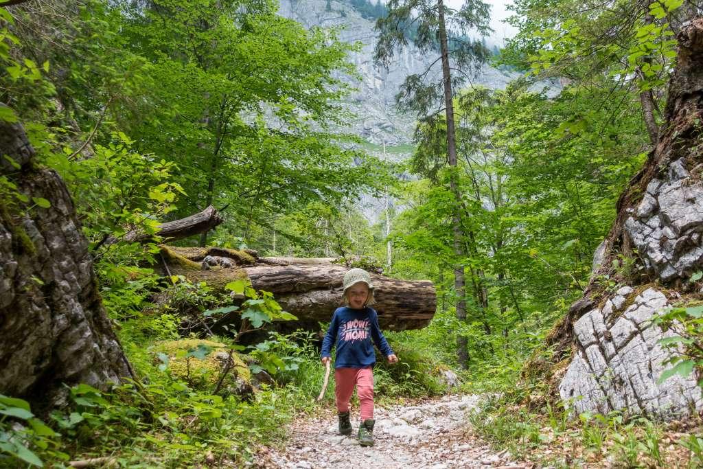Wandern Berchtesgadener Alpen mit Kindern