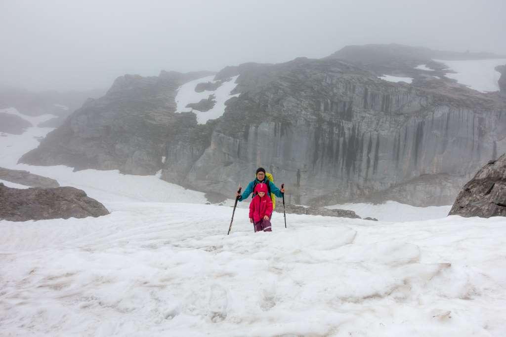 Wandern Steinernes Meer Schnee