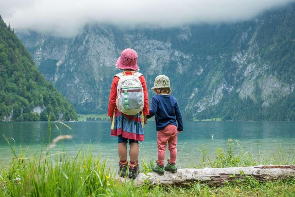 Wandern mit Kindern Königssee