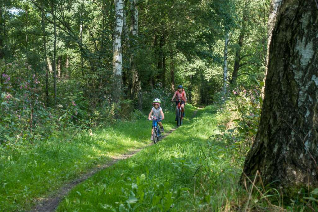 Blockline Fahrrad fahren Erzgebirge