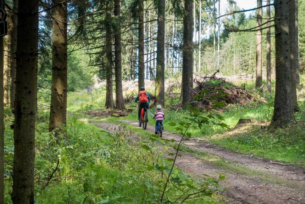 Blockline Fahrrad fahren mit Kindern