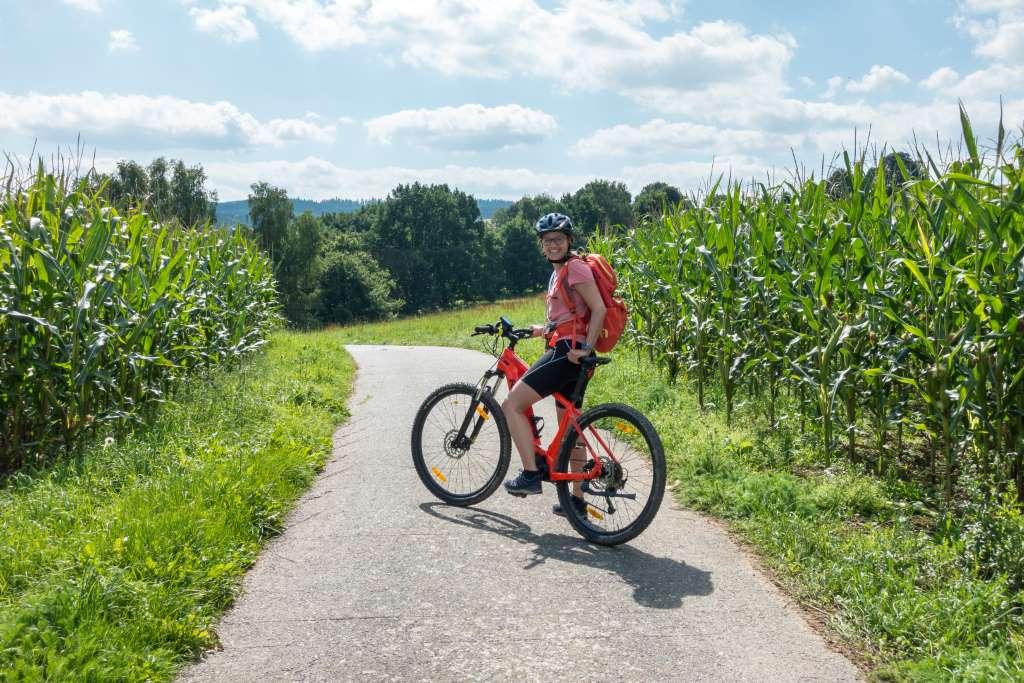 Blockline mit E-Bike