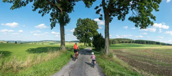 Fahrrad-Abenteuer mit Kindern im Erzgebirge: Unterwegs auf der Blockline