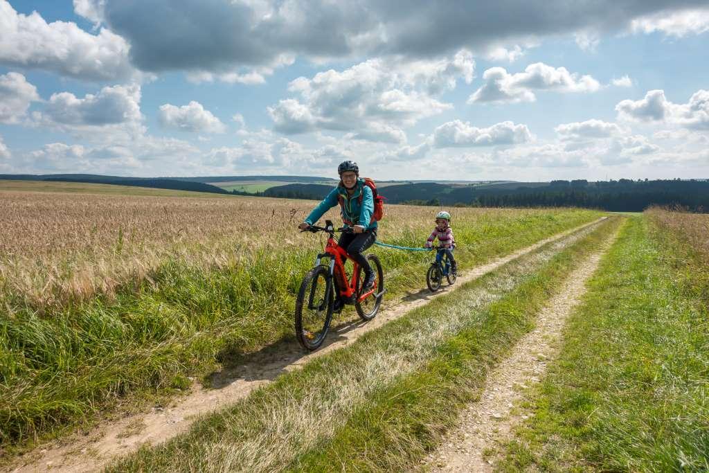 Fahrrad fahren Erzgebirge